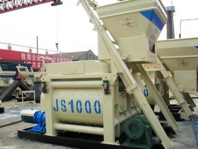 JS1000 Compulsory Concrete Mixer