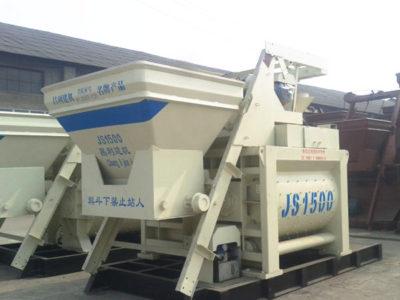 JS1500 Compulsory Concrete Mixer