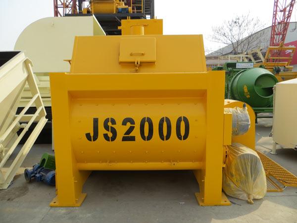 JS2000 Compulsory Concrete Mixer