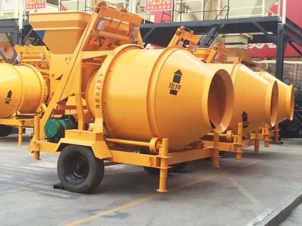 JZC500 Reverse Drum Concrete Mixer