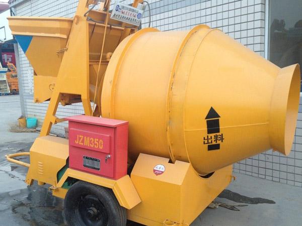 JZM350 Reverse Drum Concrete Mixer