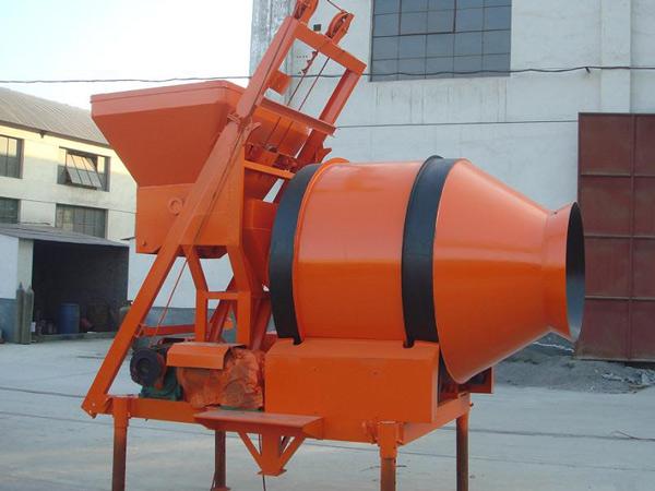 JZM500 Reverse Drum Concrete Mixer