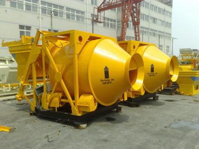 JZM750 Reverse Drum Concrete Mixer