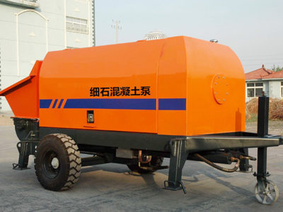 XHBT25SR Trailer Concrete Pump