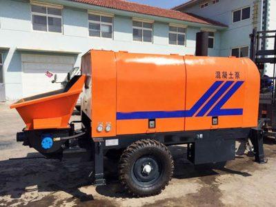 XHBT30SR Trailer Concrete Pump