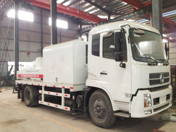 HBCS90-Truck Mounted Concrete Pump