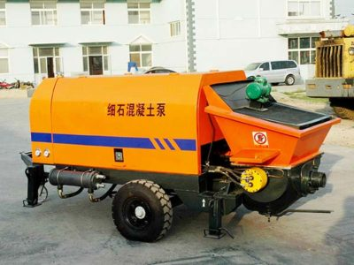 HBT30 Line Concrete Pump