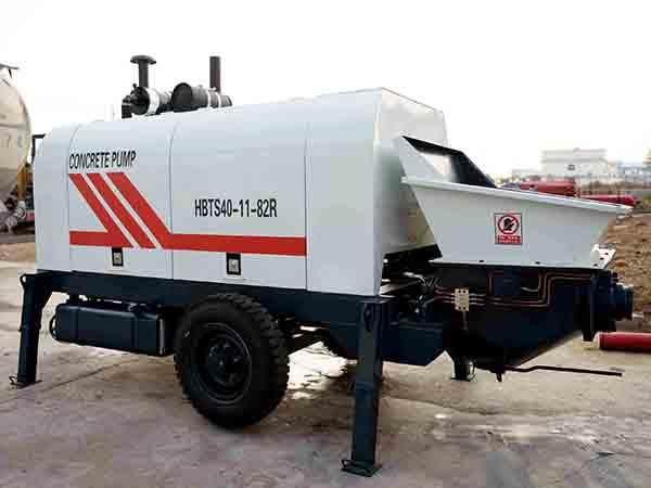 HBTS40 Concrete Line Pump