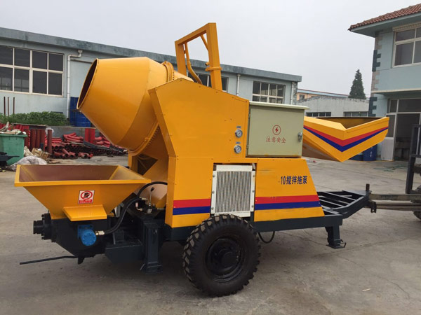 Mini Concrete Pump For Sale Diesel And Electric Type