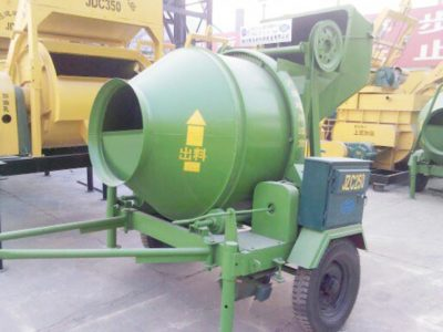 JZC250 Portable Concrete Mixer