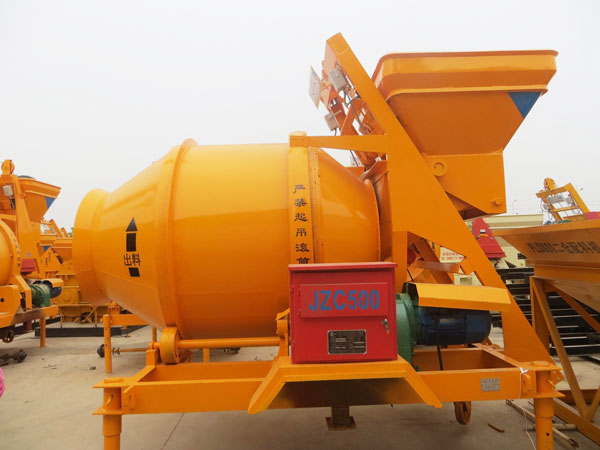 JZC500 Portable Concrete Mixer