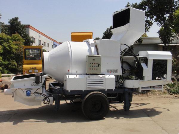 Aimix JB30R diesel concrete pump mixer