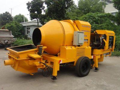 Aimix JB40R diesel-concrete mixer pump