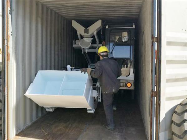 self loader truck