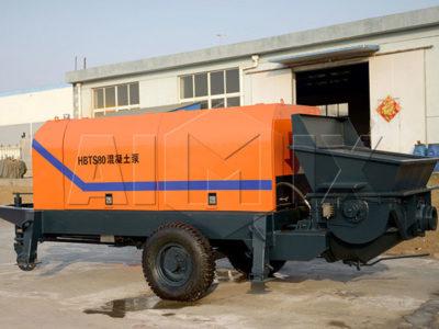 concrete pump trailer