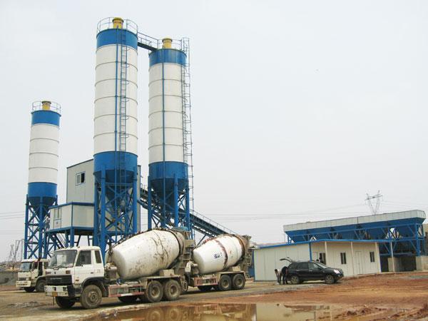 AJ-180 concrete batching plant