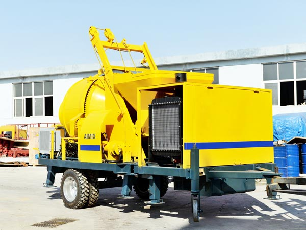 JB30R-JZC350 mobile concrete pump