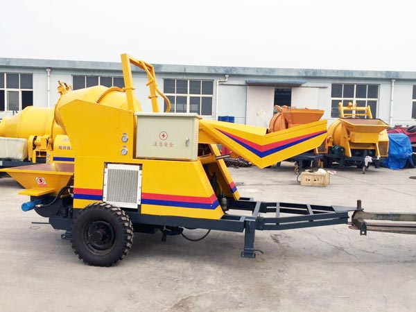JBS10 JZC200 concrete mixer pump
