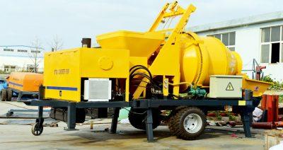 JBS30 concrete mixer pump