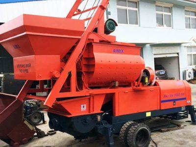 JBS40-JS750concrete mixer pump