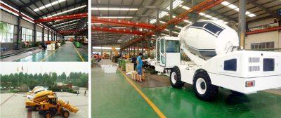 self loading concrete mixer truck manuafcturers