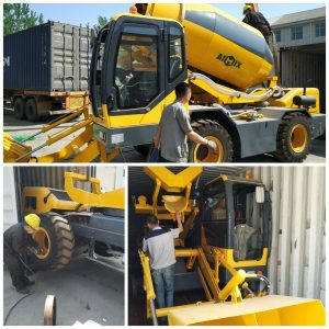 self loading concrete to Tanzania