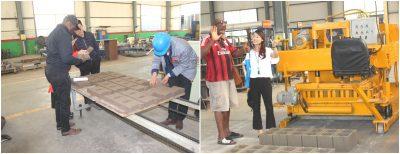help customers to choose brick making machine