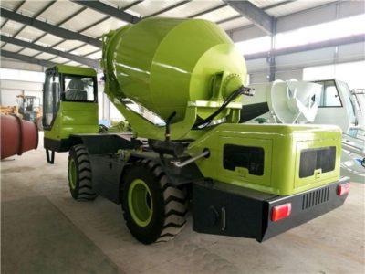 self loading concrete mixer price