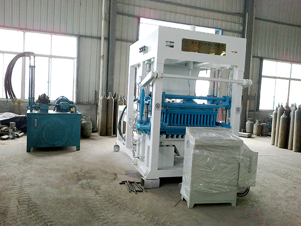 ABM-12S fully automatic brick make machine