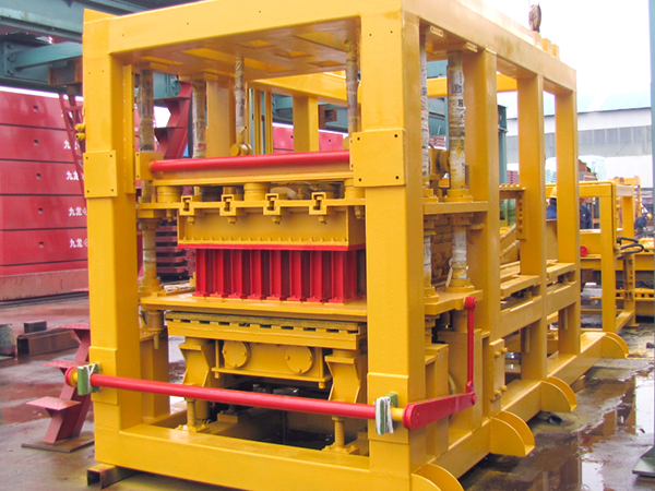 QT10-15 fly ash brick machine