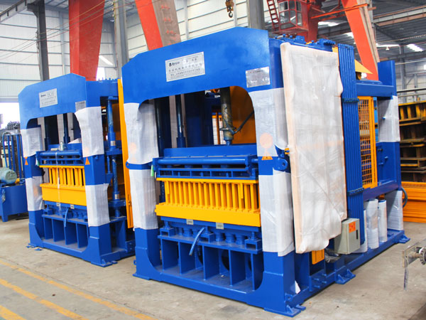 ABM-8S fly ash brick making machine