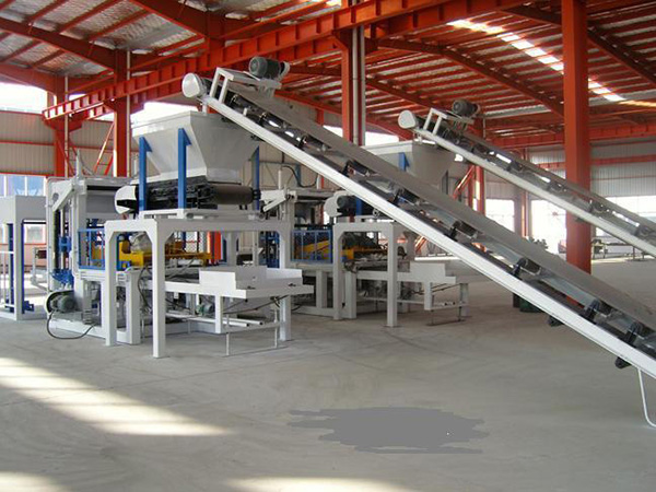 cement brick moulding machine