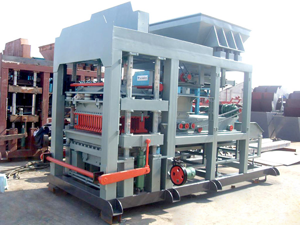 QT6-15 fly ash block machine