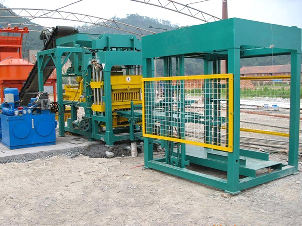 ABM-8S hydraulic block making machine