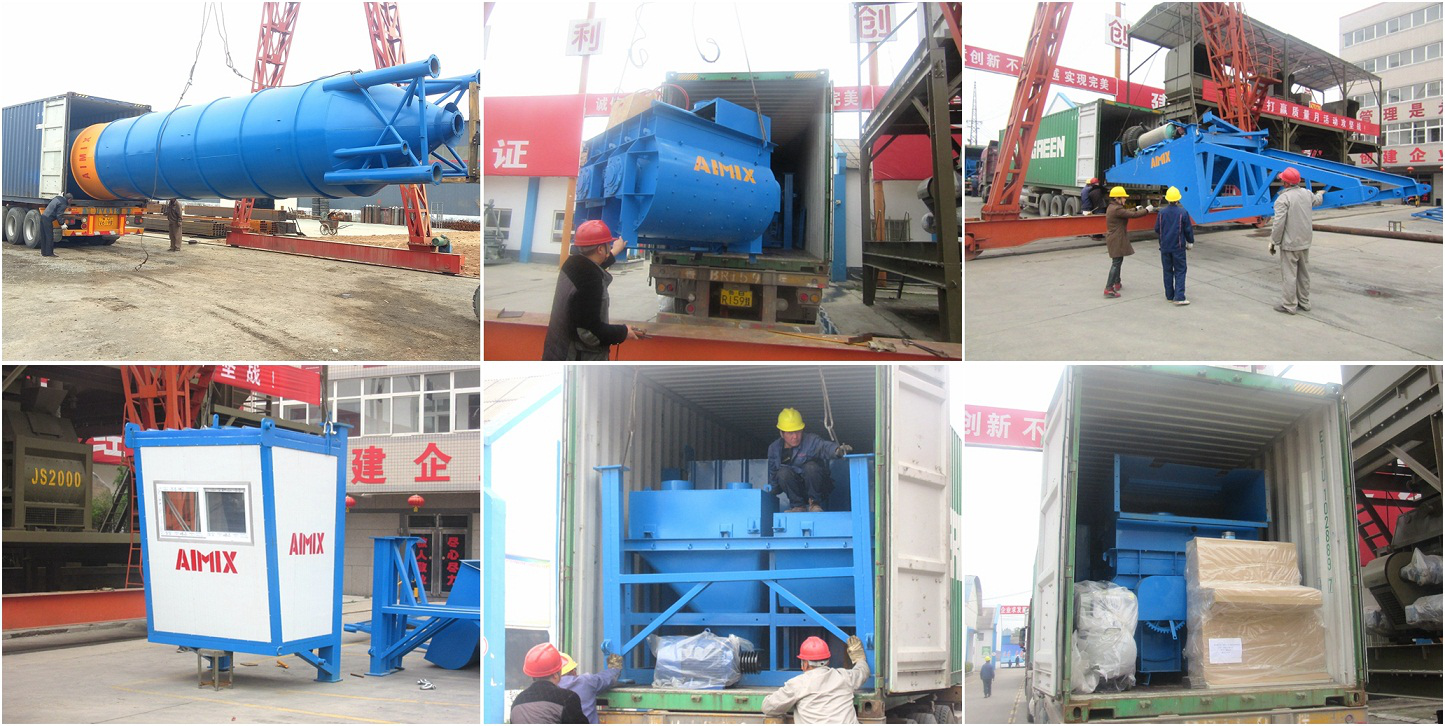 AJY-35 mobile batching plant was sent to Philippines
