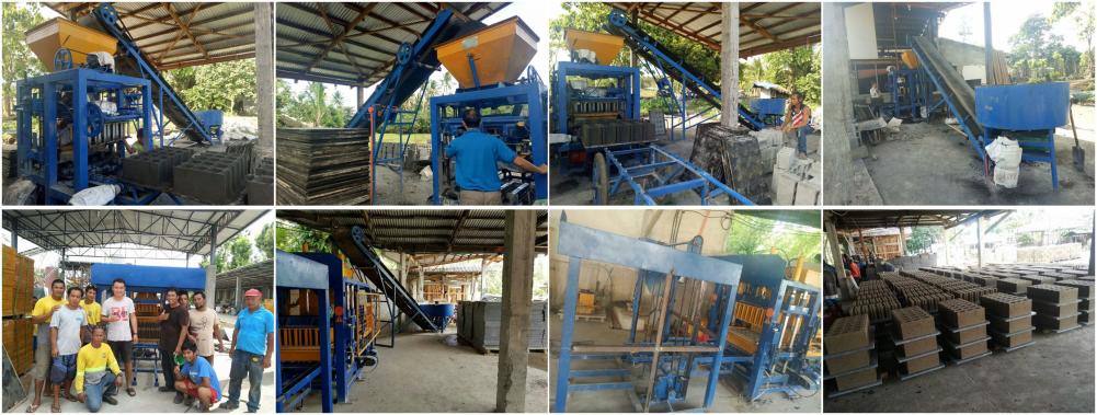 cement brick making machine for sale