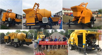 aimix-group-concrete-mixer-pump-exported-to-Philippines