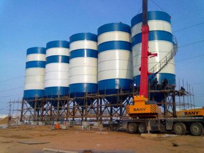 200t cement silo