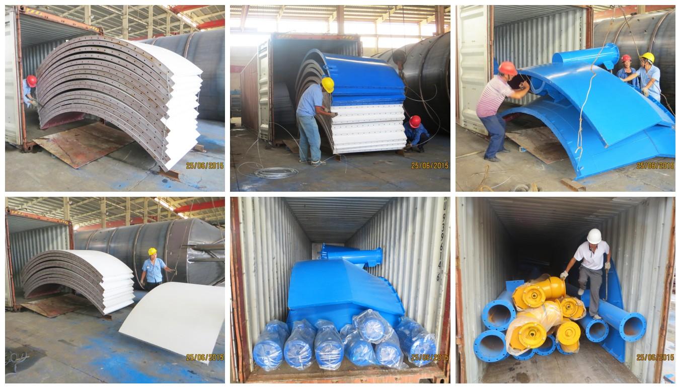 300 cement silo to Uzbekistan
