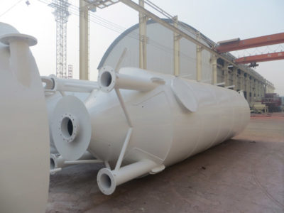 30t welded cement silo