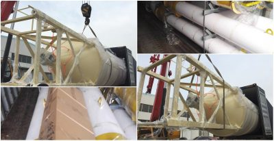 30T cement silo sent to south africa