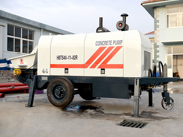 HBT40 Concrete Trailer Pump