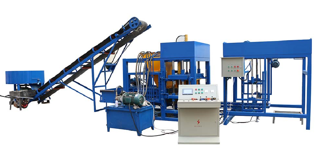 QT4-25 fly ash brick making machine