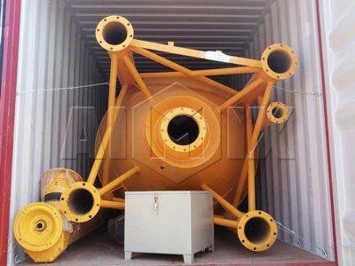 50t cement silo to Australia