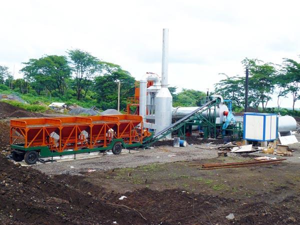 DHB60 asphalt batch plant