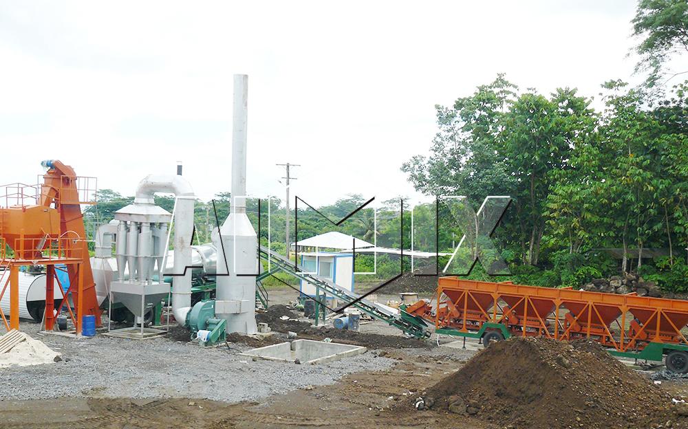 DHB60 asphalt drum plant
