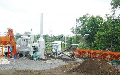 DHB60 drum type asphalt plant