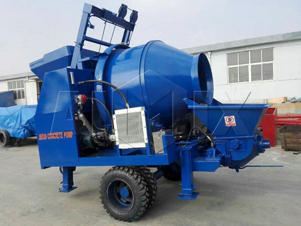 JBS30-JZC350 electric concrete pump