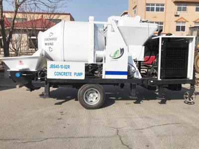 JBS40R concrete mixer pump