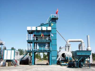LB1200 asphalt mix plant